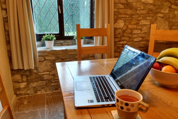A week in a writing cottage