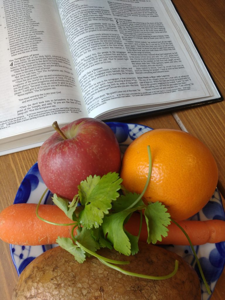 Healthy food and the Bible